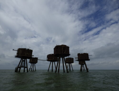 Tour of the Maunsell Forts (Redsands U6) and SS. Richard Montgomery